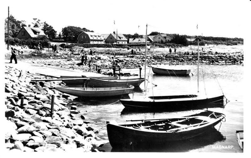 Båstar i Magnarps Hamn historia