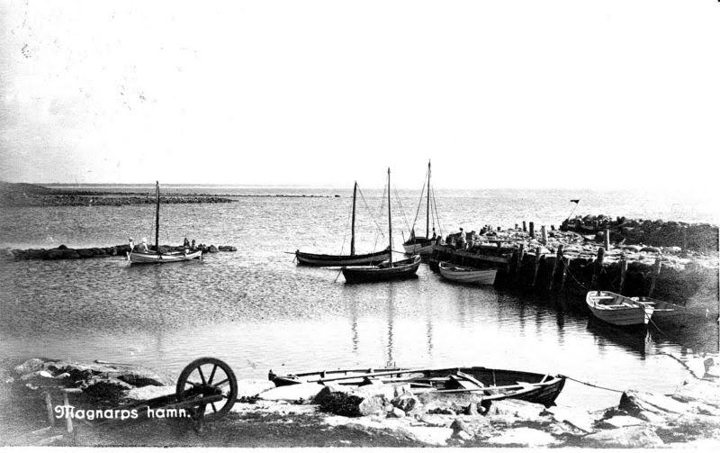 Magnarps Hamn förr